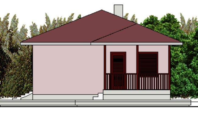 Montažna kuća Klaudija - izgled 2