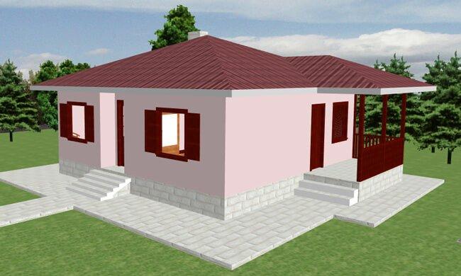 Montažna kuća Klaudija