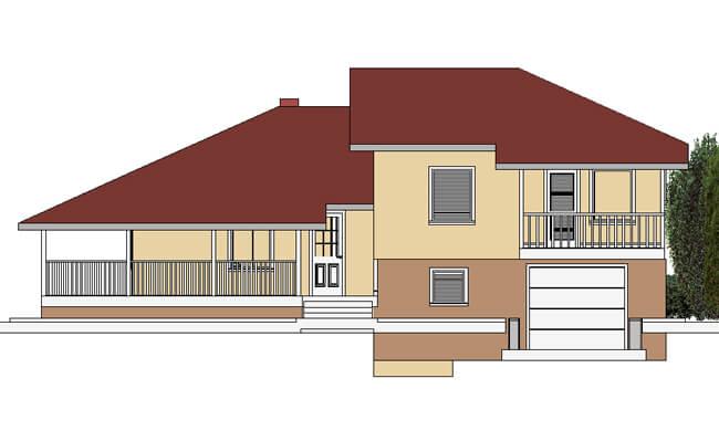 Montažna kuća Maker Lara -izgled 1