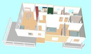 Montažna kuća Maker Lara -presek