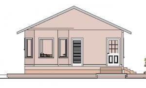 Montažna kuća Maker Lela-izgled 1