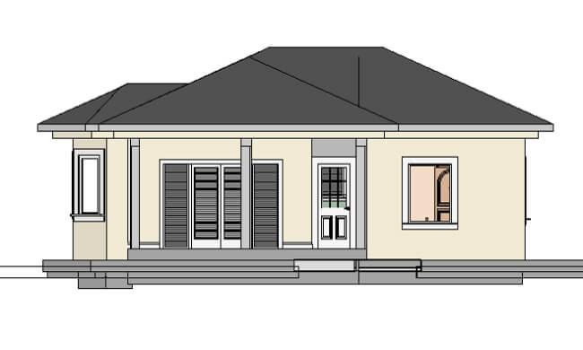 Montažna kuća Maker Lira -izgled 1