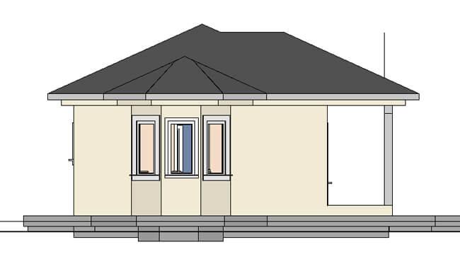 Montažna kuća Maker Lira -izgled 2