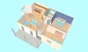 Montažna kuća Maker Lira -presek