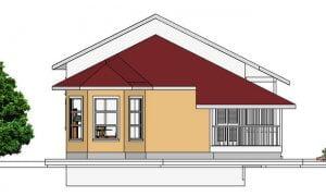 Montažna kuća Maker Magda-izgled 2