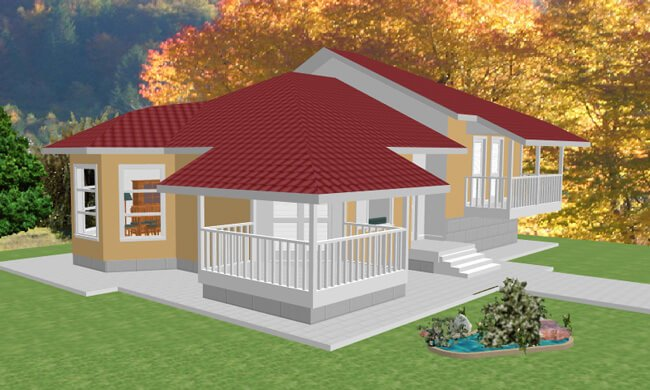 Montažna kuća Maker Magda