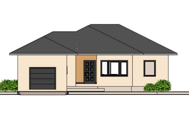 Montažna kuća Maker Majda -izgled 1