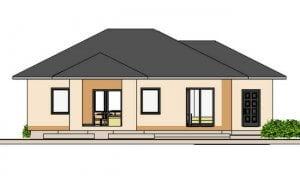 Montažna kuća Maker Majda -izgled 2