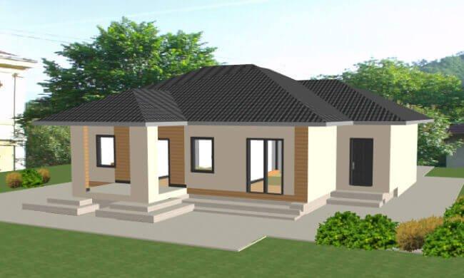 Montažna kuća Maker Majda