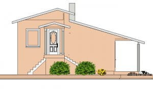 Montažna kuća Maker Mina-izgled 1
