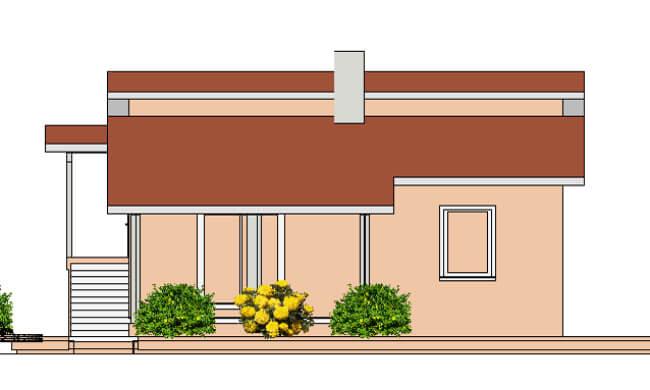 Montažna kuća Maker Mina-izgled 2