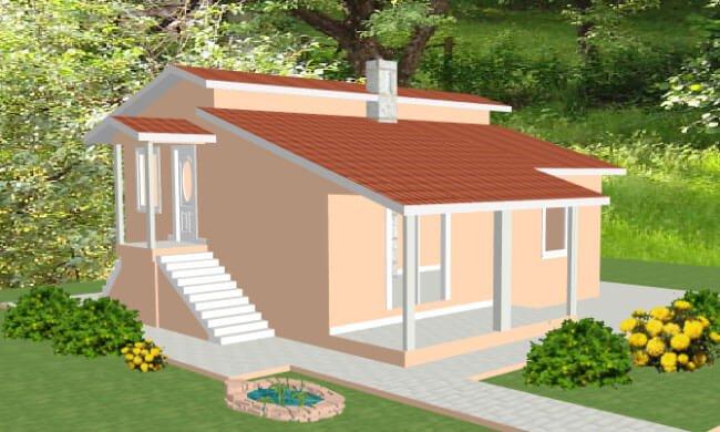 Montažna kuća Maker Mina