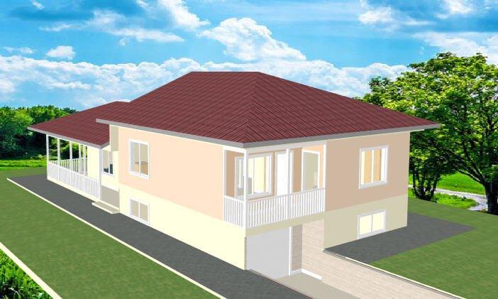 Montažna kuća Maker Miona
