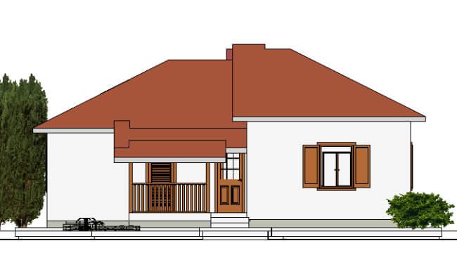 Montažna kuća Maker Mirela-izgled 1