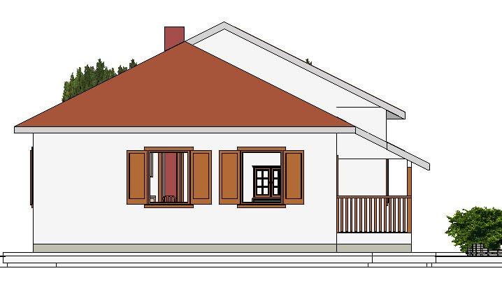 Montažna kuća Maker Mirela-izgled 2