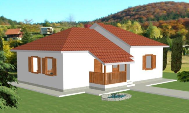 Montažna kuća Maker Mirela