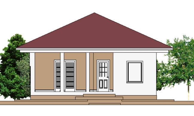 Montažna kuća Maker Nadja-izgled 1