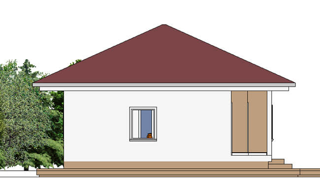 Montažna kuća Maker Nadja-izgled 2