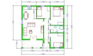 Montažna kuća Maker Nadja-osnova