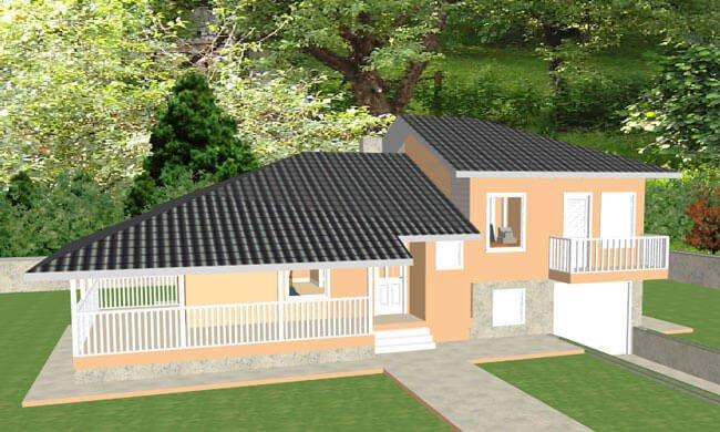 Montažna kuća Maker Nela