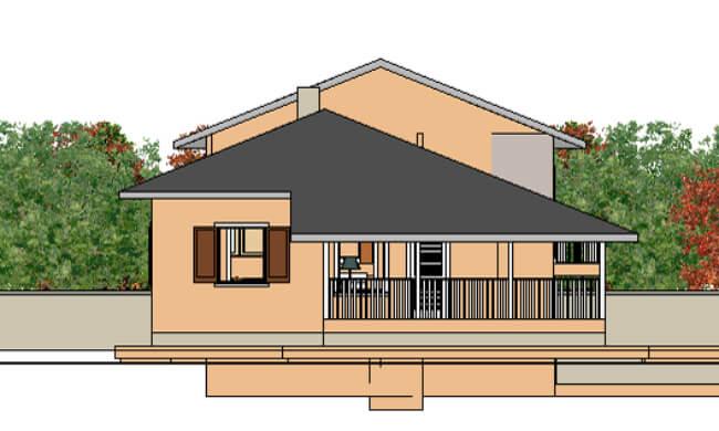 Montažna kuća Maker Nela-izgled 2
