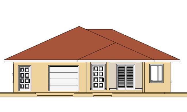 Montažna kuća Maker Nika-izgled 1