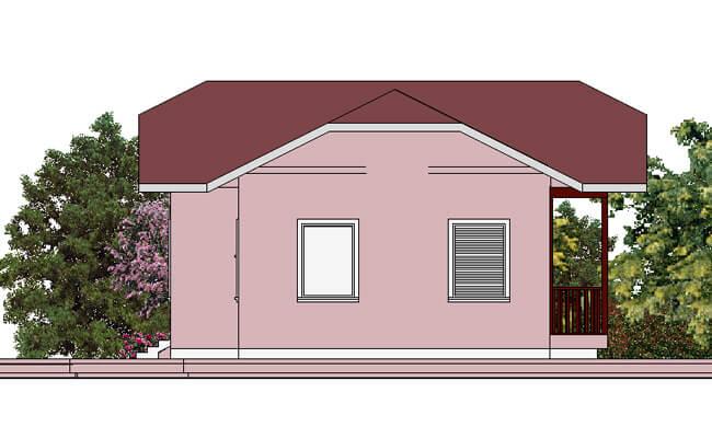 Montažna kuća Maker Nikolina-izgled 2