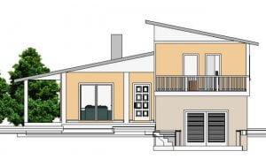 Montažna kuća Maker Nora 103