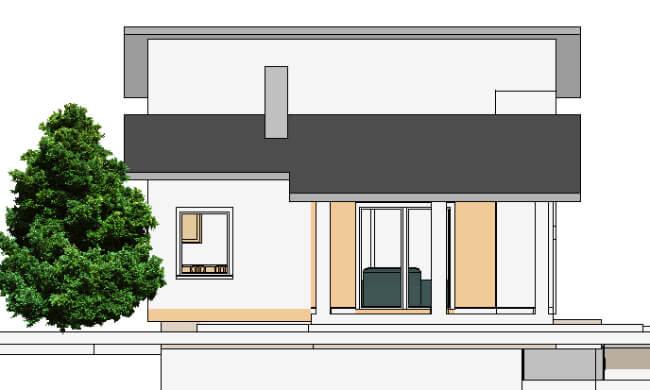 Montažna kuća Maker Nora-izgled 2