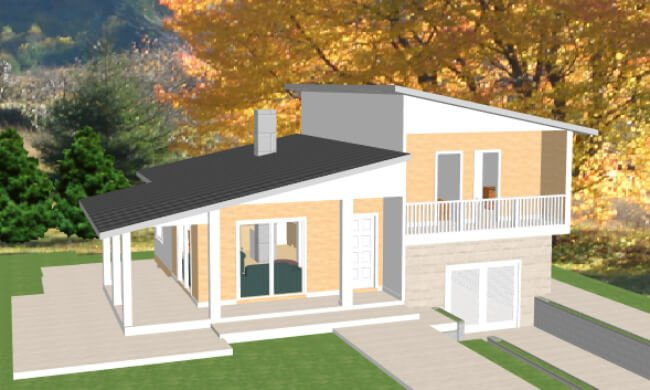Montažna kuća Maker Nora