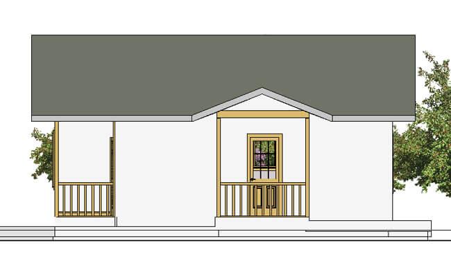 Montažna kuća Maker Penelopa-izgled 1