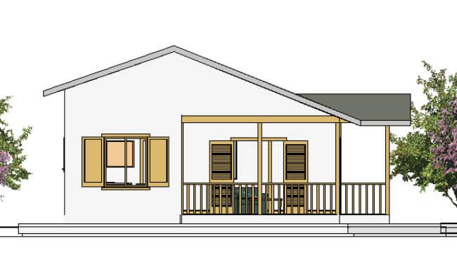 Montažna kuća Maker Penelopa-izgled 2