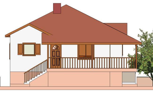 Montažna kuća Maker Santana-izgled 1