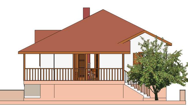 Montažna kuća Maker Santana-izgled 2