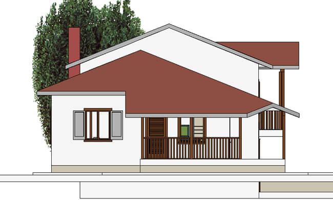 Montažna kuća Maker Sena-izgled 2