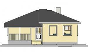 Montažna kuća Maker Sofija-izgled 1