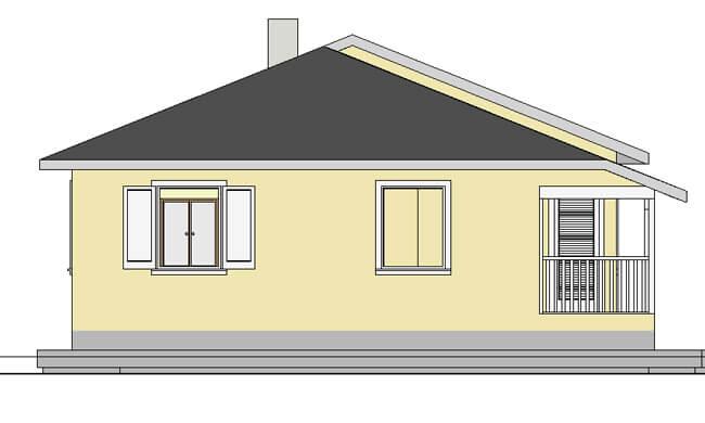 Montažna kuća Maker Sofija-izgled 2