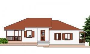 Montažne kuće Maker Talija -izgled 1
