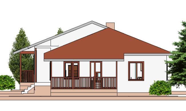 Montažne kuće Maker Talija-izgled 2