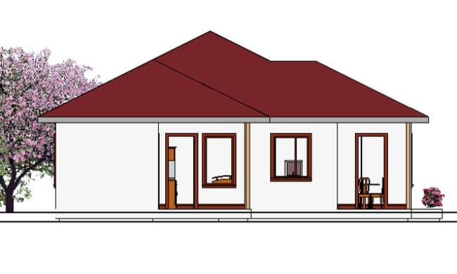 Montažne kuće Maker Tamara-izgled 2
