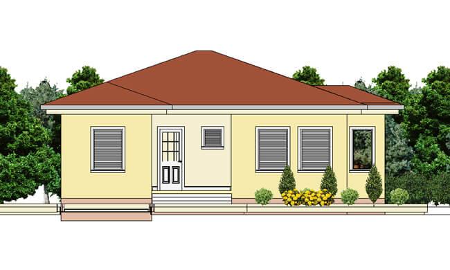 Montažne kuće Maker Una-izgled 1