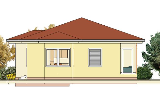 Montažne kuće Maker Una-izgled 2