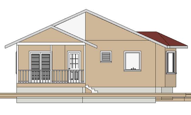 Montažne kuće Maker Vanja-izgled 2