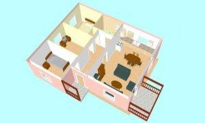 Montažne kuće Maker Verona-presek