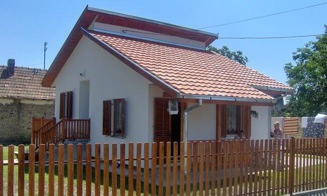 Montažne kuće cene Maker Ivanjica model Zrenjanin Tip 62