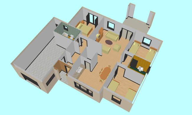 Montažna kuća Maker model Majda tip 167