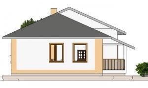Montažna kuća Maker model Mirela tip 81