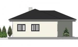 Montažna kuća Maker model Katja tip 121