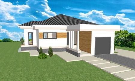 Montažne kuće Maker Ivanjica Mia tip 153